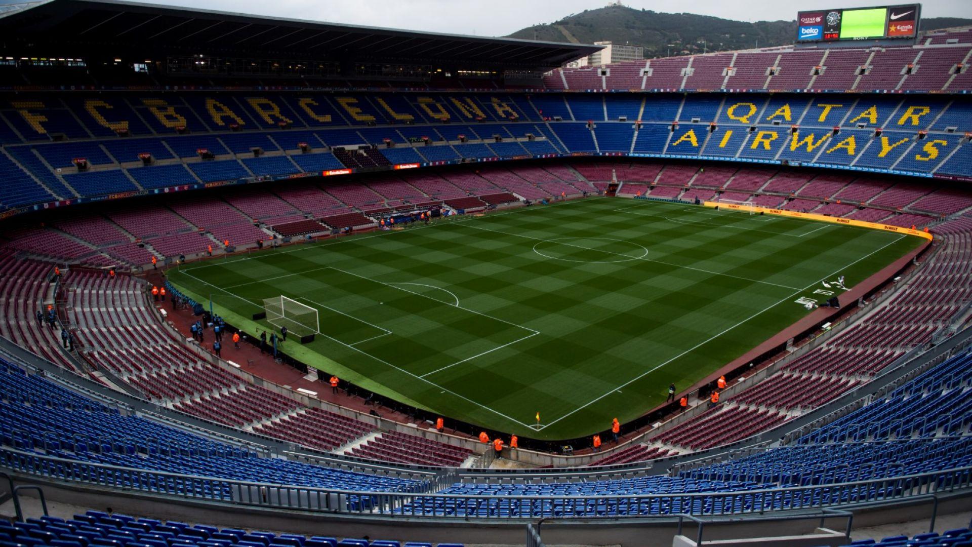 Барса продава името на стадиона си с благотворителна цел