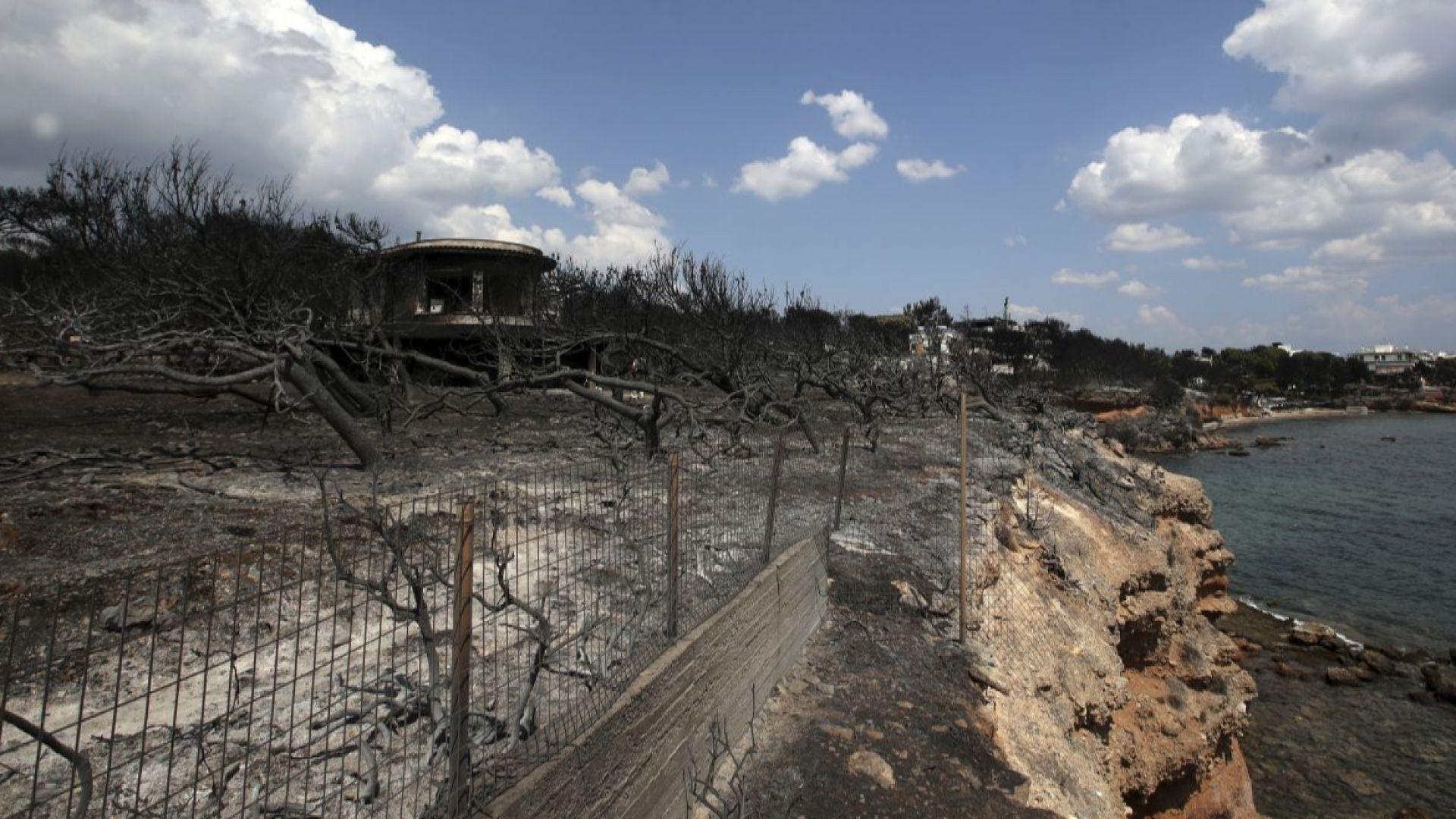 Видеозапис разкрива откъде тръгва огненият ад в Атика