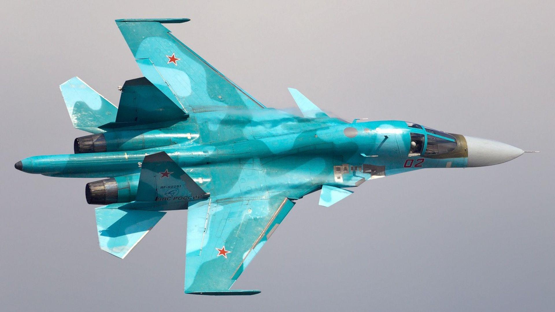 Русия ще използва Су-34 и като изтребител