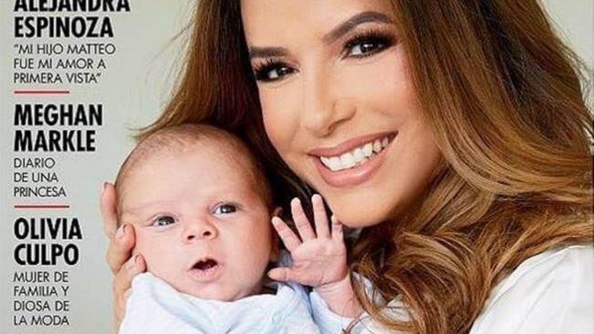 Ева Лонгория и синът ѝ с първа фотосесия
