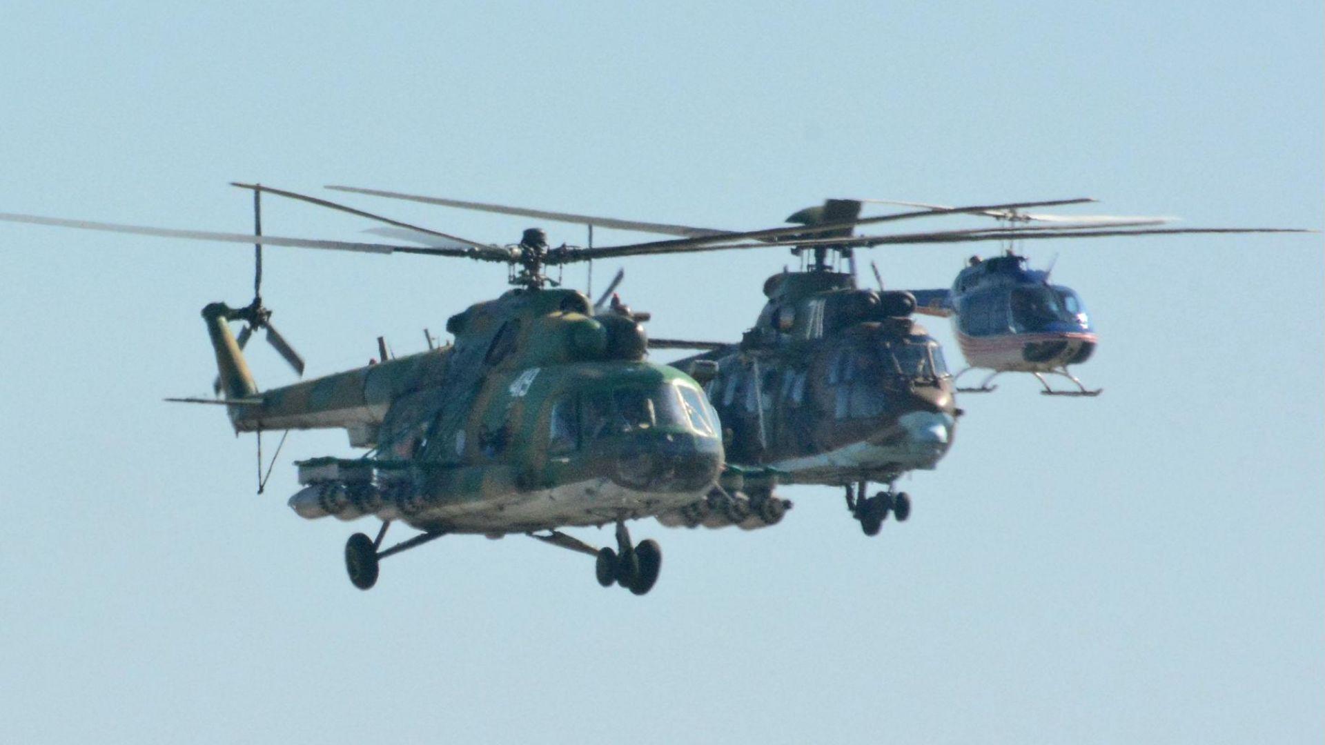 МО призна: Сбъркали сме обществената поръчка за хеликоптерите