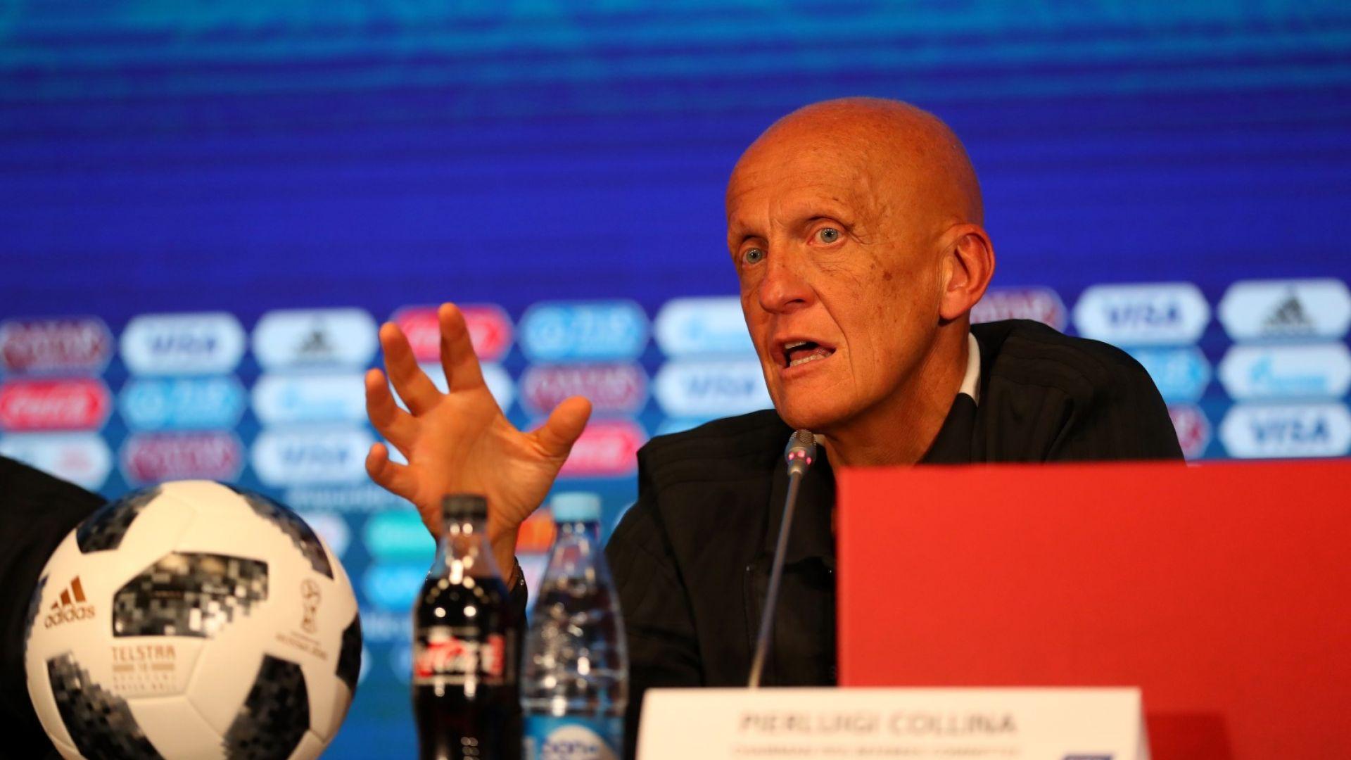 Пиерлуиджи Колина подаде оставка заради ВАР