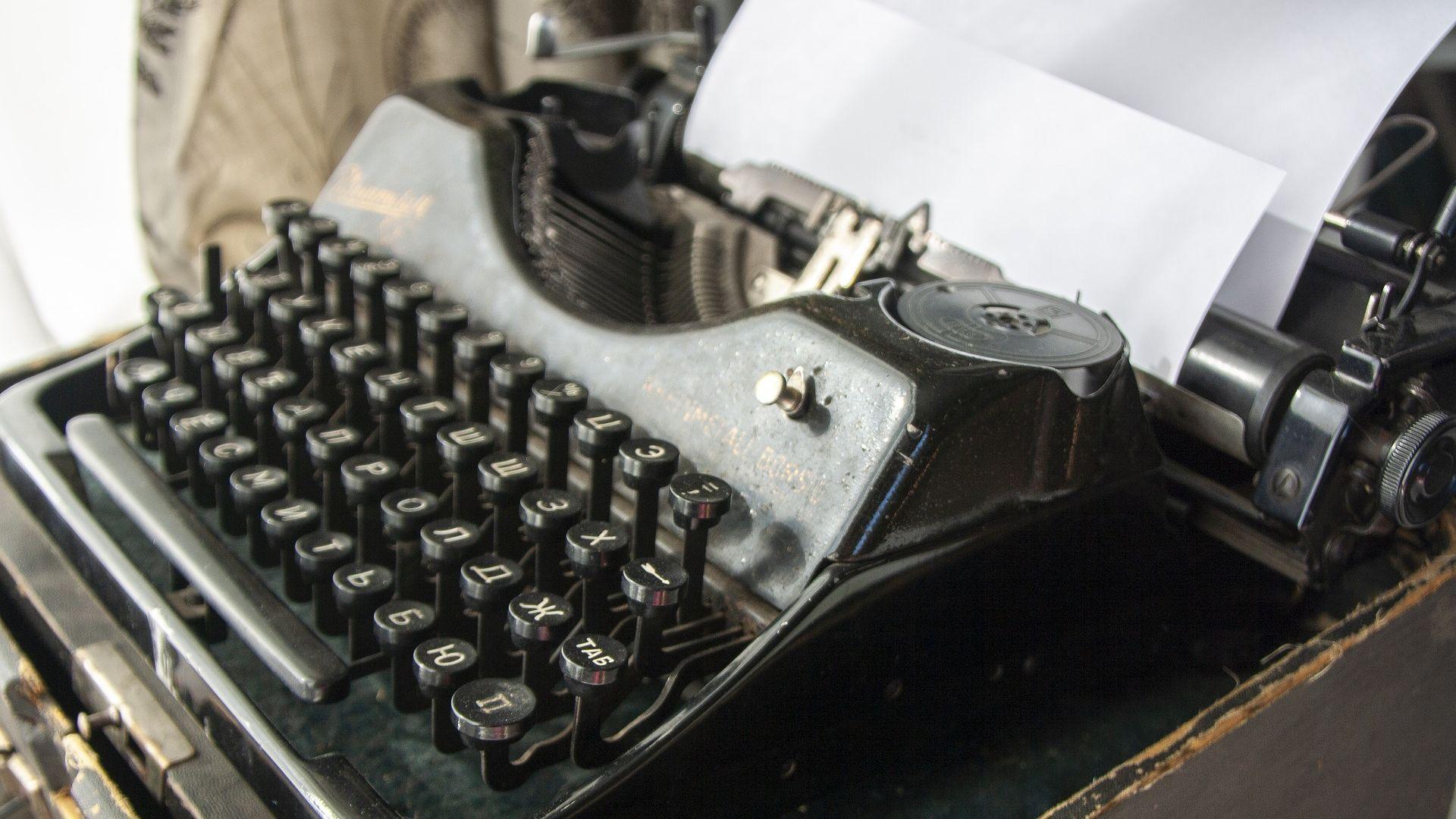 Пишещи машини са завръщат - заради хакерите