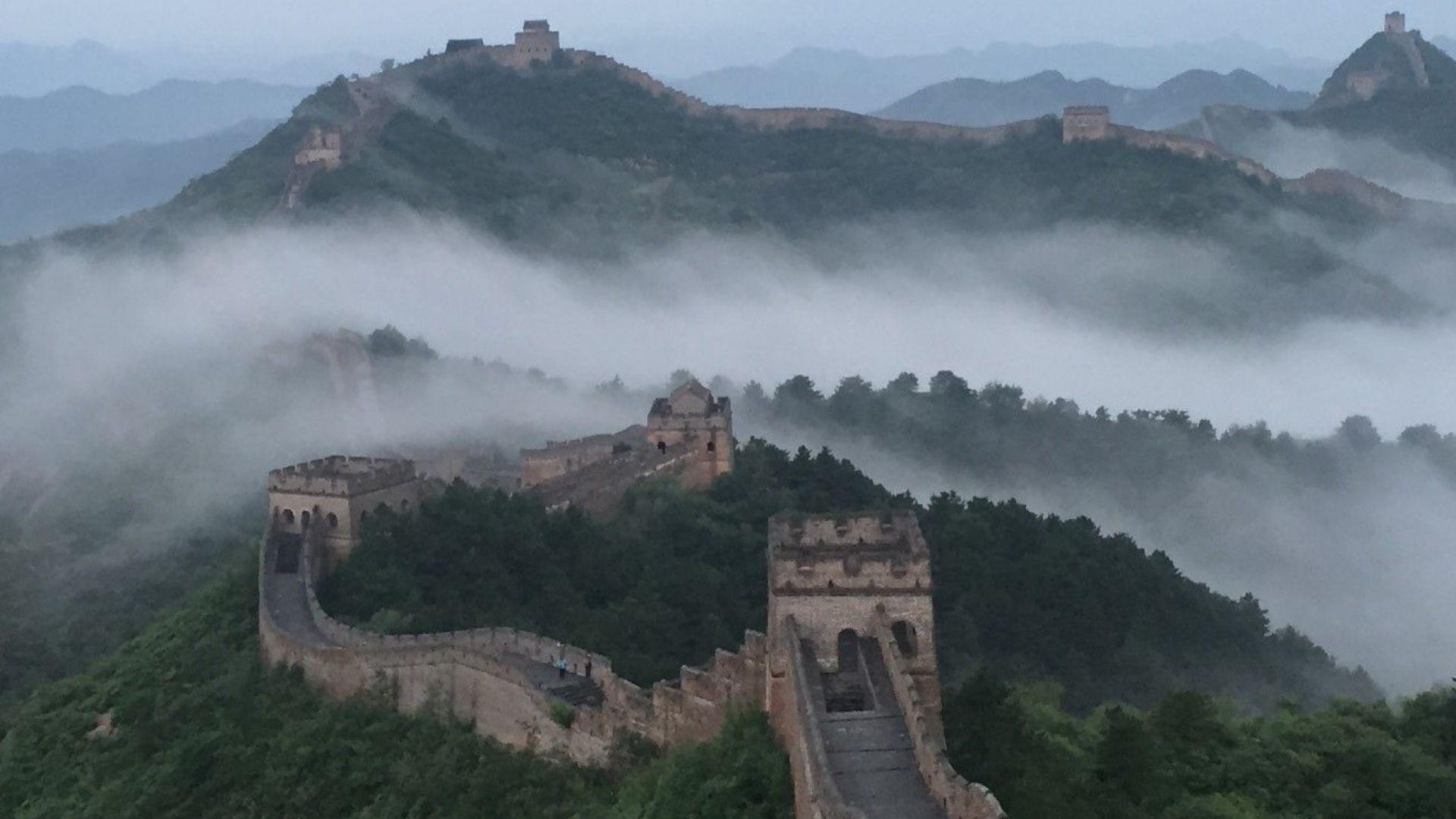 """Идеята на Airbnb за """"Нощ на Великата стена"""" удари на камък"""