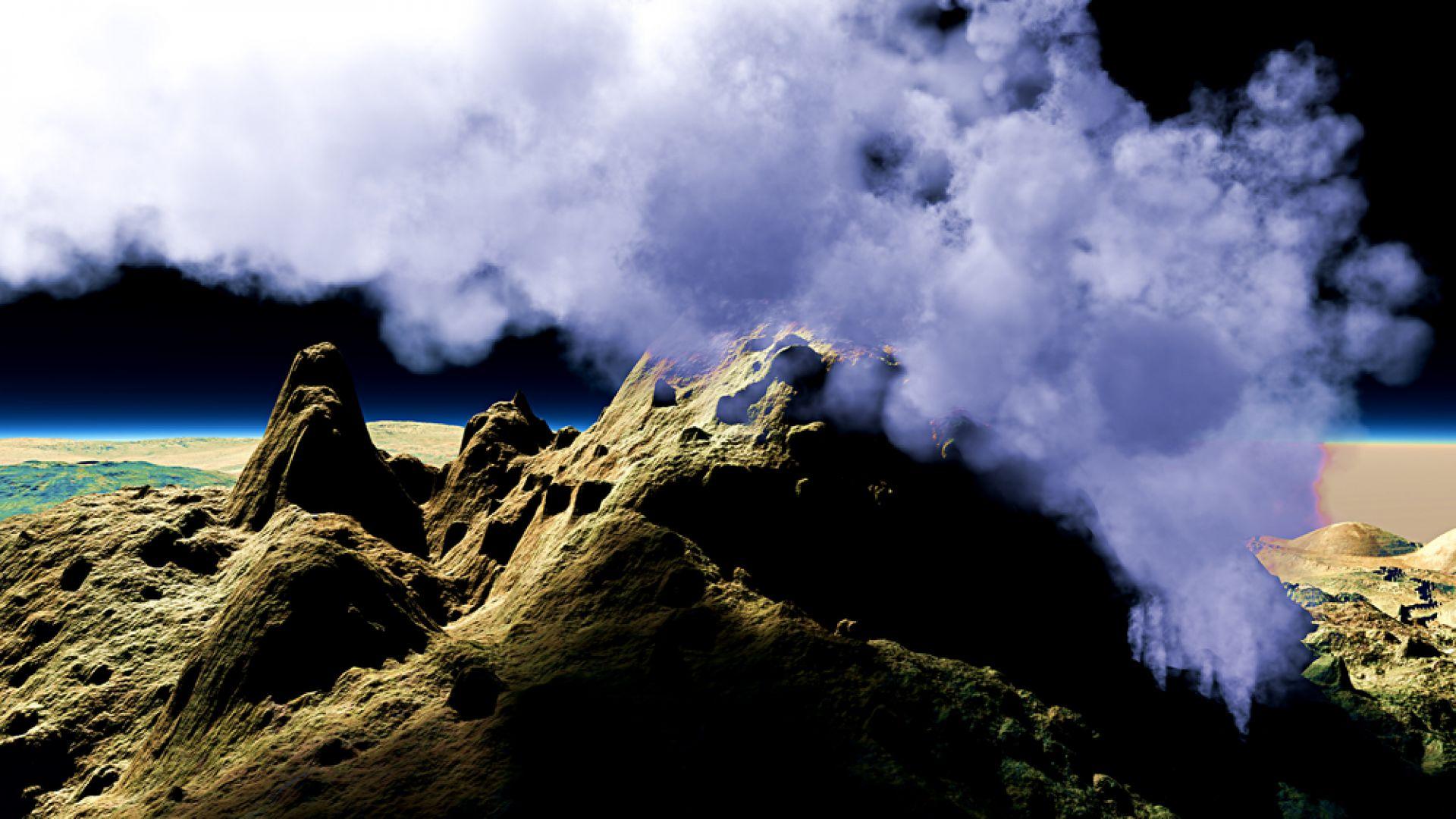 Вулканът Анак Кракатау в Индонезия изригна