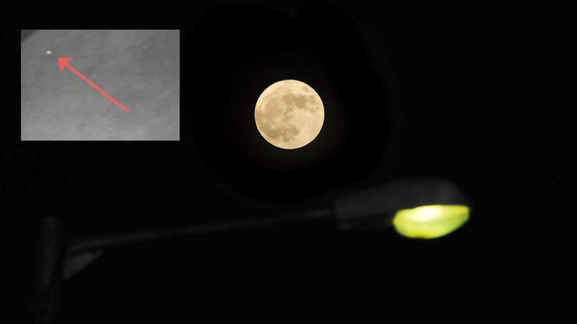 Два метеорита удариха Луната, а експлозиите се видяха от Земята (видео)