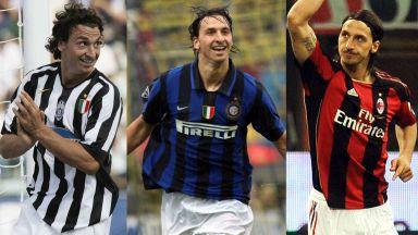 11-те звезди, играли за трите раирани гранда на Италия (галерия)