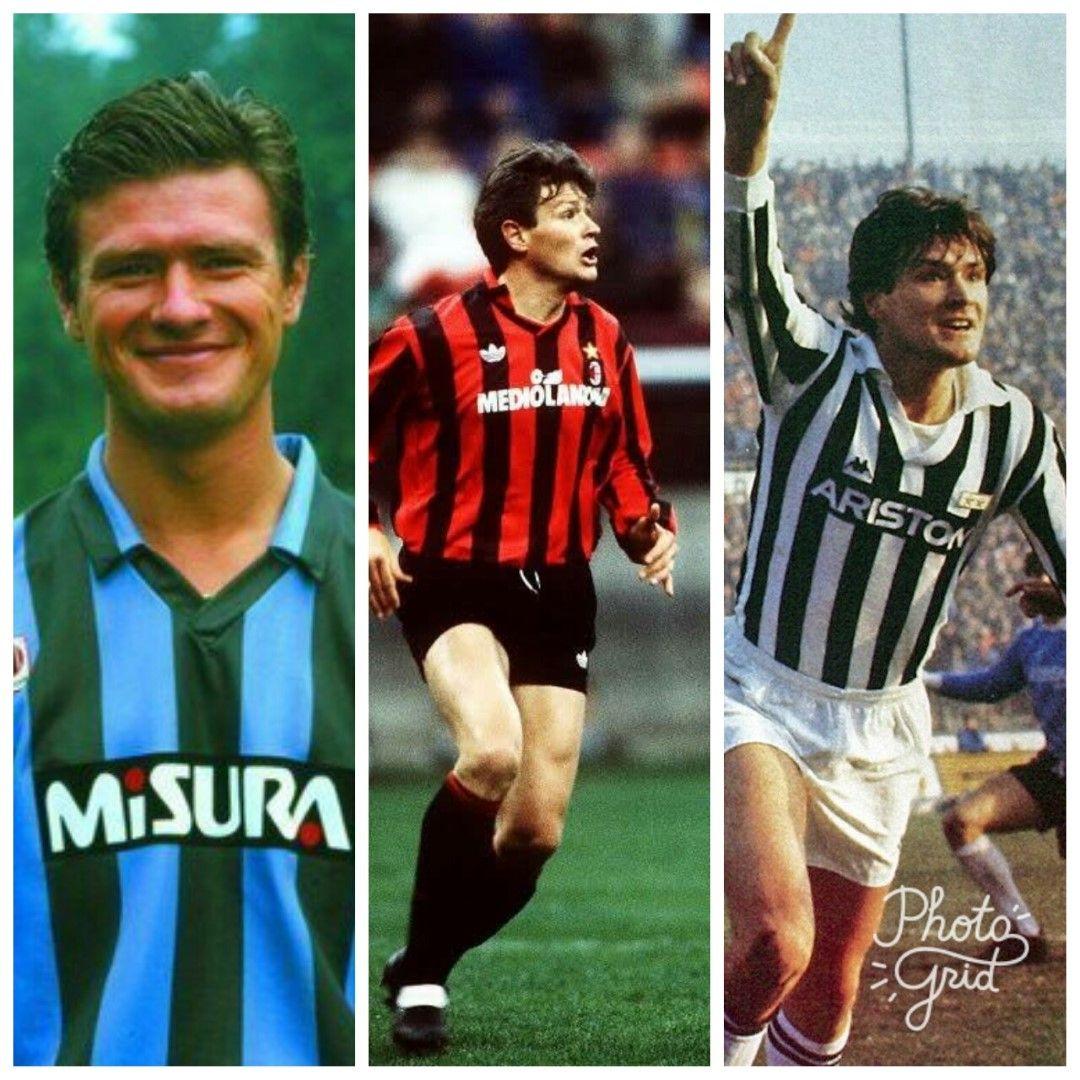 """Алдо Серена не е най-голямата звезда в историята на италианския футбол, но не е кой да е. Дебютира през 1977 г. и се отказа през 1993-а, като има общо 8 сезона с """"Интер"""" (в два периода), 3 с """"Милан"""" (също на два пъти) и 2 с """"Ювентус"""". Спечели 4 титли на Италия - с всеки от клубовете (два пъти с """"червено-черните""""). Голмайстор на Серия """"А"""" през 1989 г., носител на Купа на УЕФА, Междуконтинентална купа и две Купи на Италия, Серена бе деветка от стар тип - едър и силен във въздуха. Голямото му разочарование бе Мондиал 1990, когато изпусна дузпа срещу Аржентина на полуфинала и Италия отпадна."""