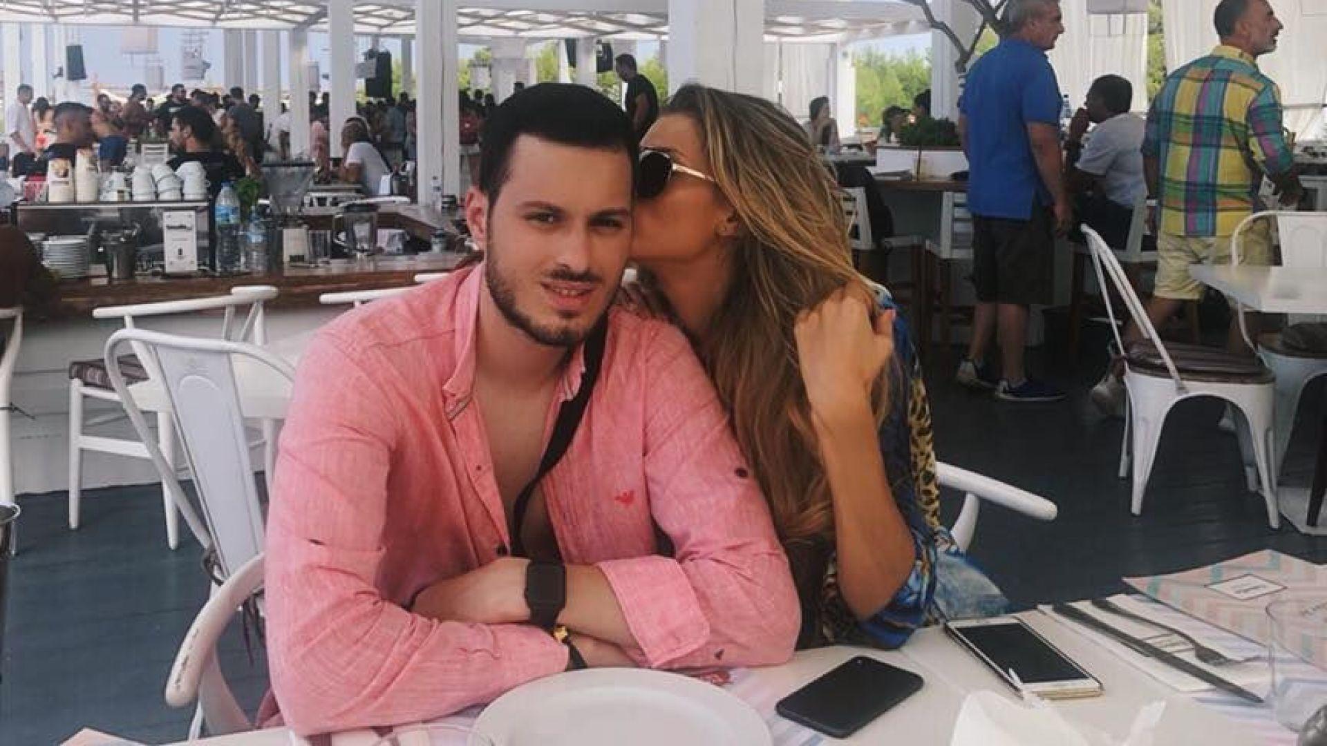 Тамара Георгиева с приятеля си Стивън Роуз