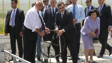 Борисов и турски министър завъртяха крана на транзитния газопровод