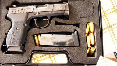 МВР показа оръжията, конфискувани от бандата на Очите