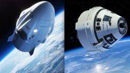НАСА избра астронавти за първите частни космически кораби