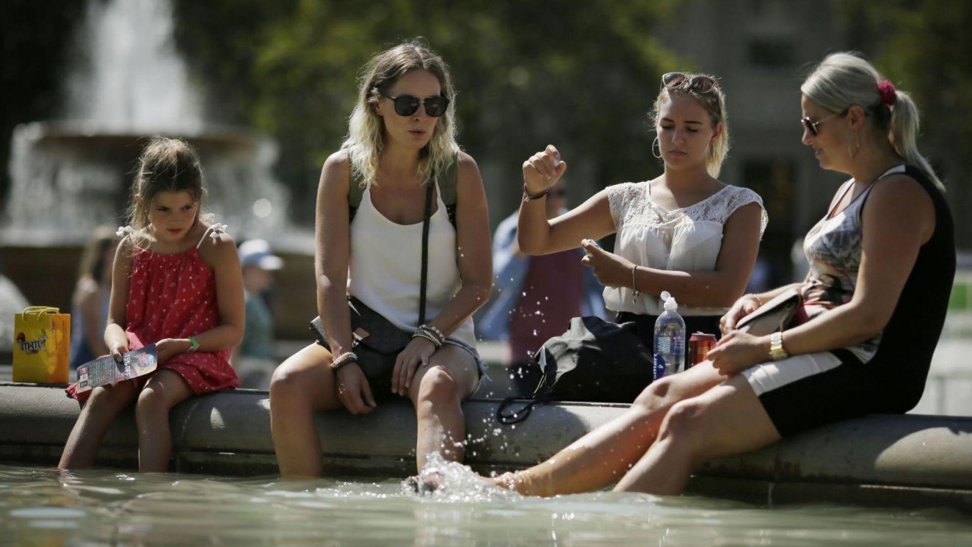 Горещините в Европа продължават, в Португалия очакват 47 градуса