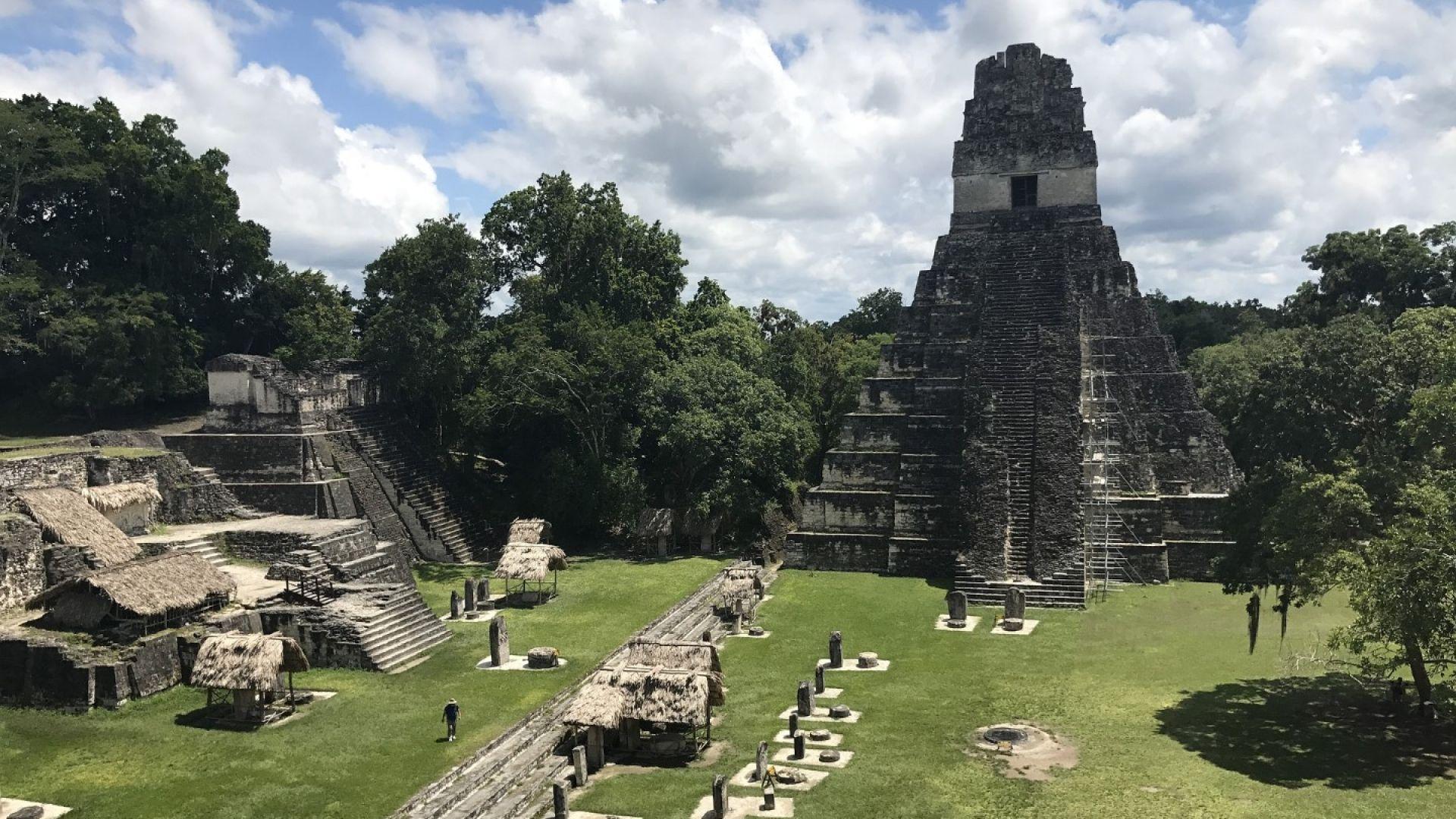 Суша погубила цивилизацията на маите