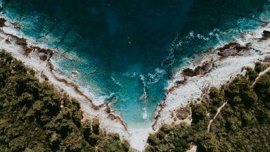 Небесен поглед към Средиземно море