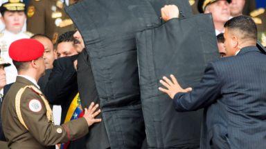 Мадуро оцеля при атентат с дронове, излъчен на живо по телевизията