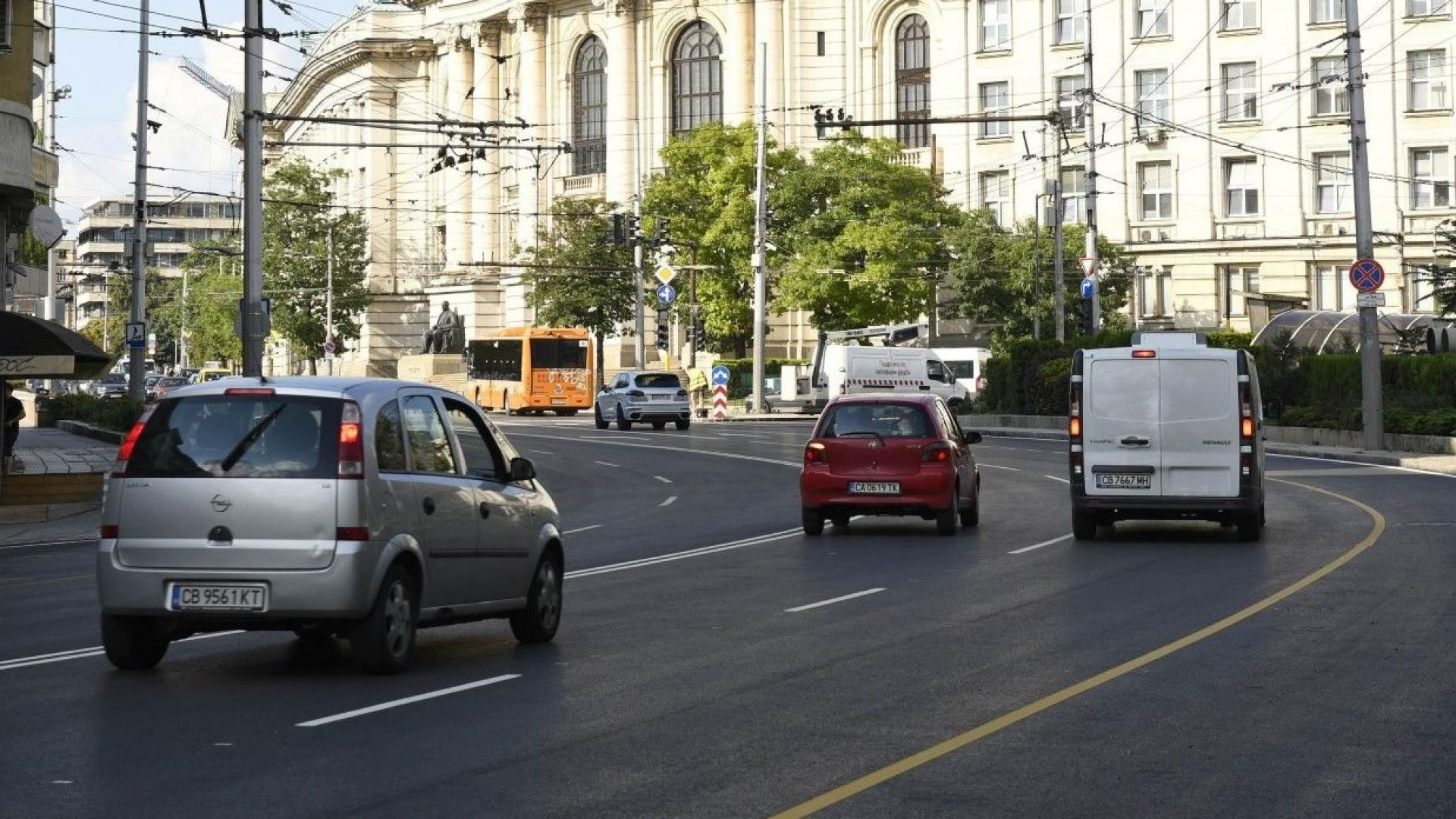 Ремонти затварят отсечки от ключови столични булеварди