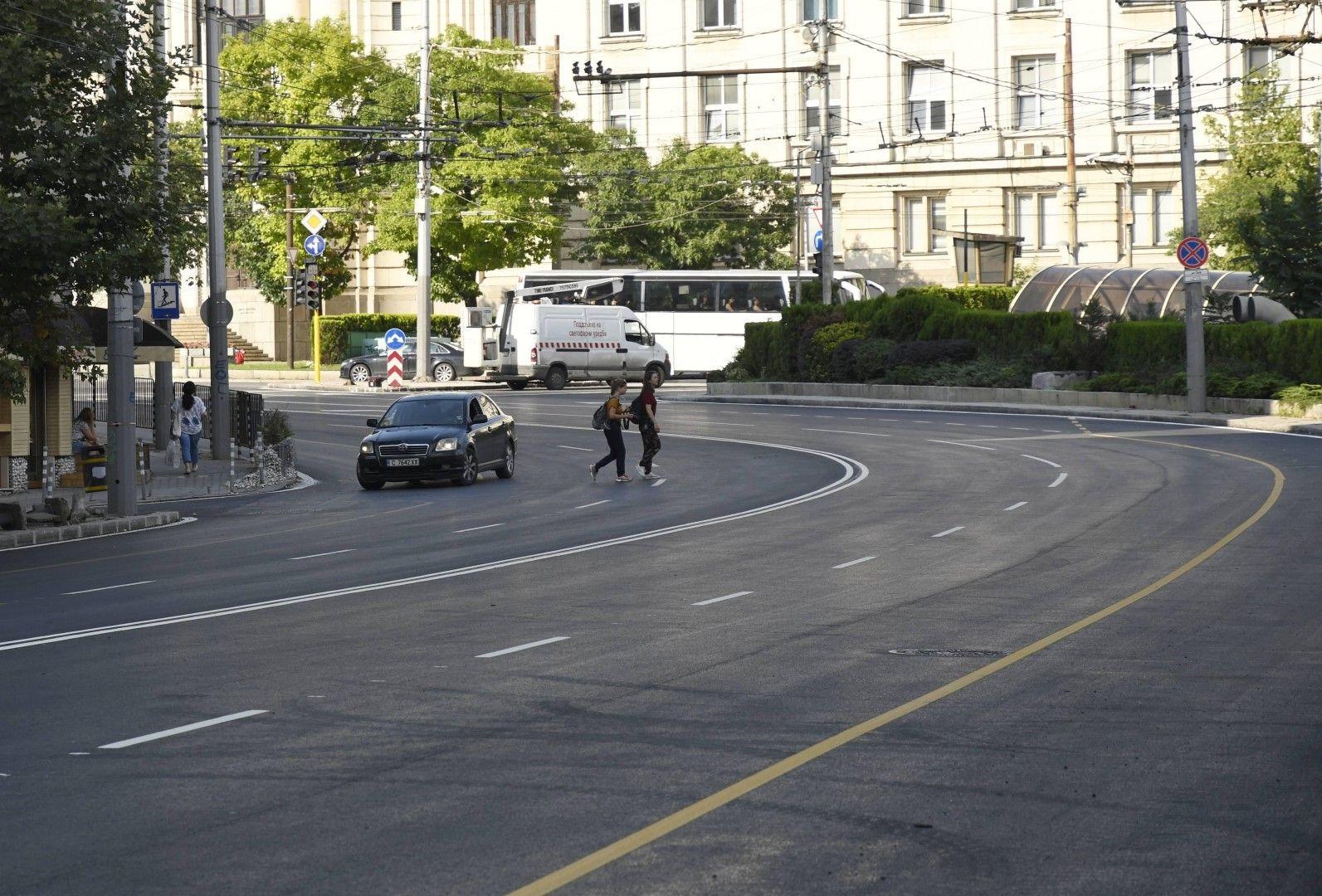 Булевардът не бе ремонтиран от 30 години