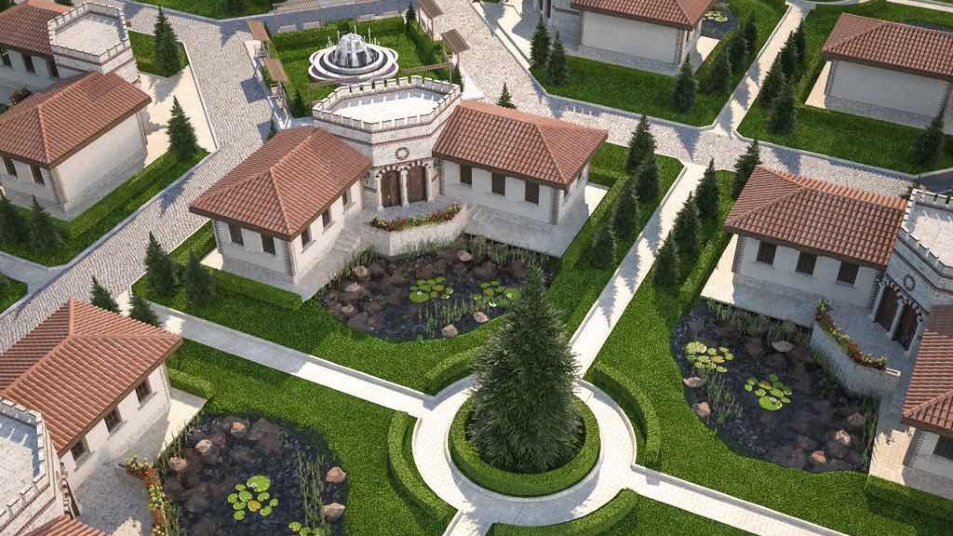 """Комплекс от български средновековни къщи се изгражда до """"Исторически парк"""""""