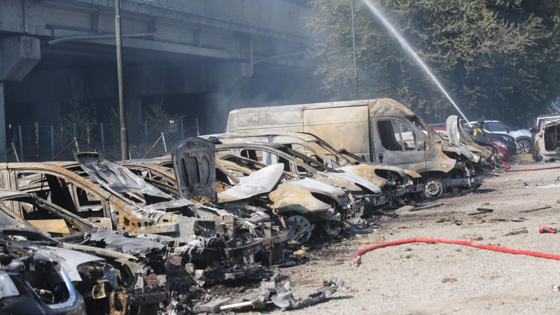 Екплозията доведе до много жертви и ранени и предизвика сериозни материални щети