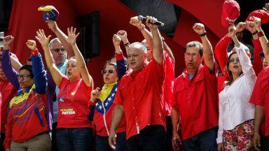 Митинг в подкрепа на Николас Мадуро събра хиляди в Каракас
