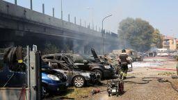 Три от българчетата, ранени при взрива в Болоня, остават в болница