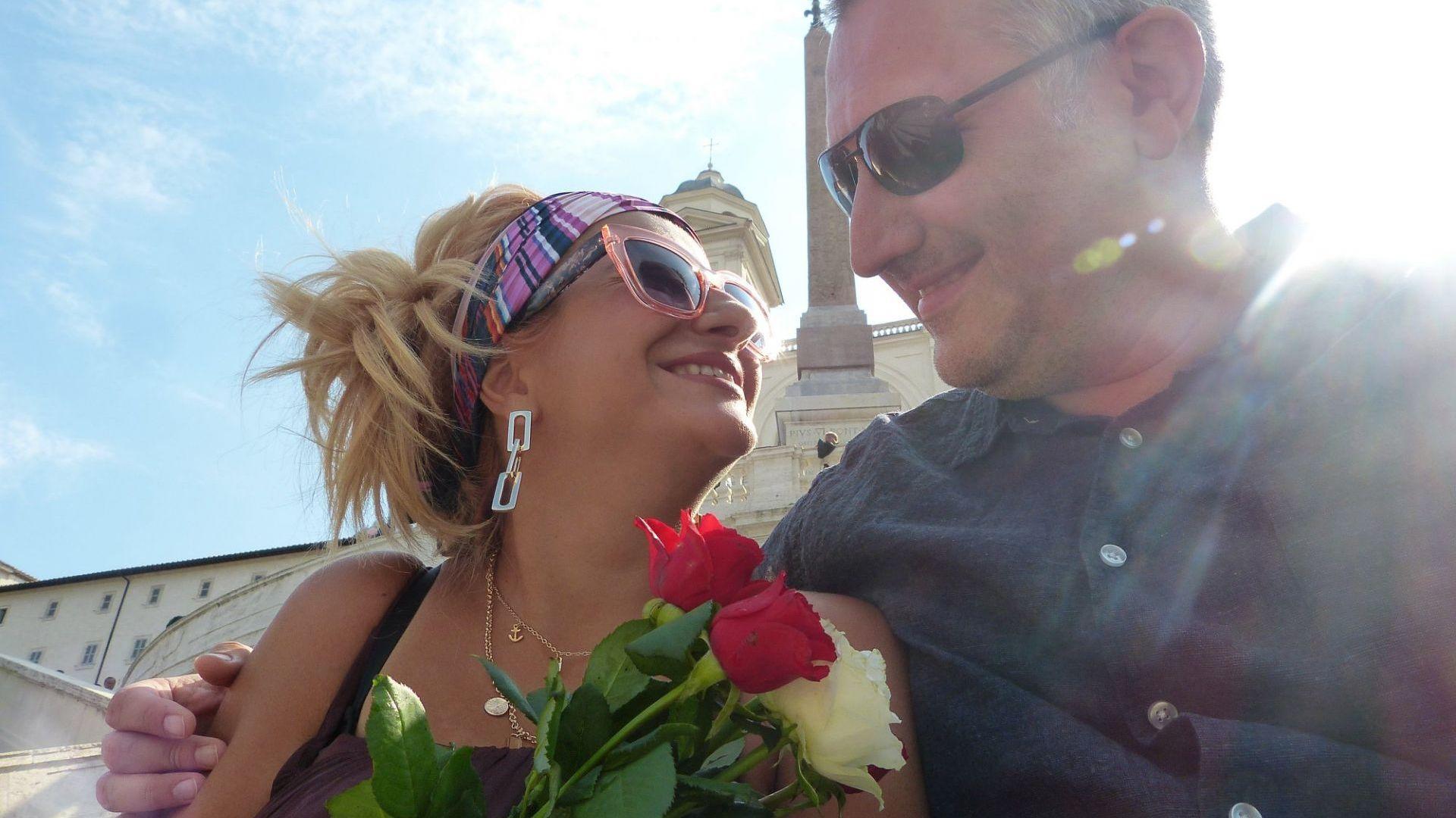 Нели Хаджийска и съпругът ѝ празнуваха годишнина в Рим