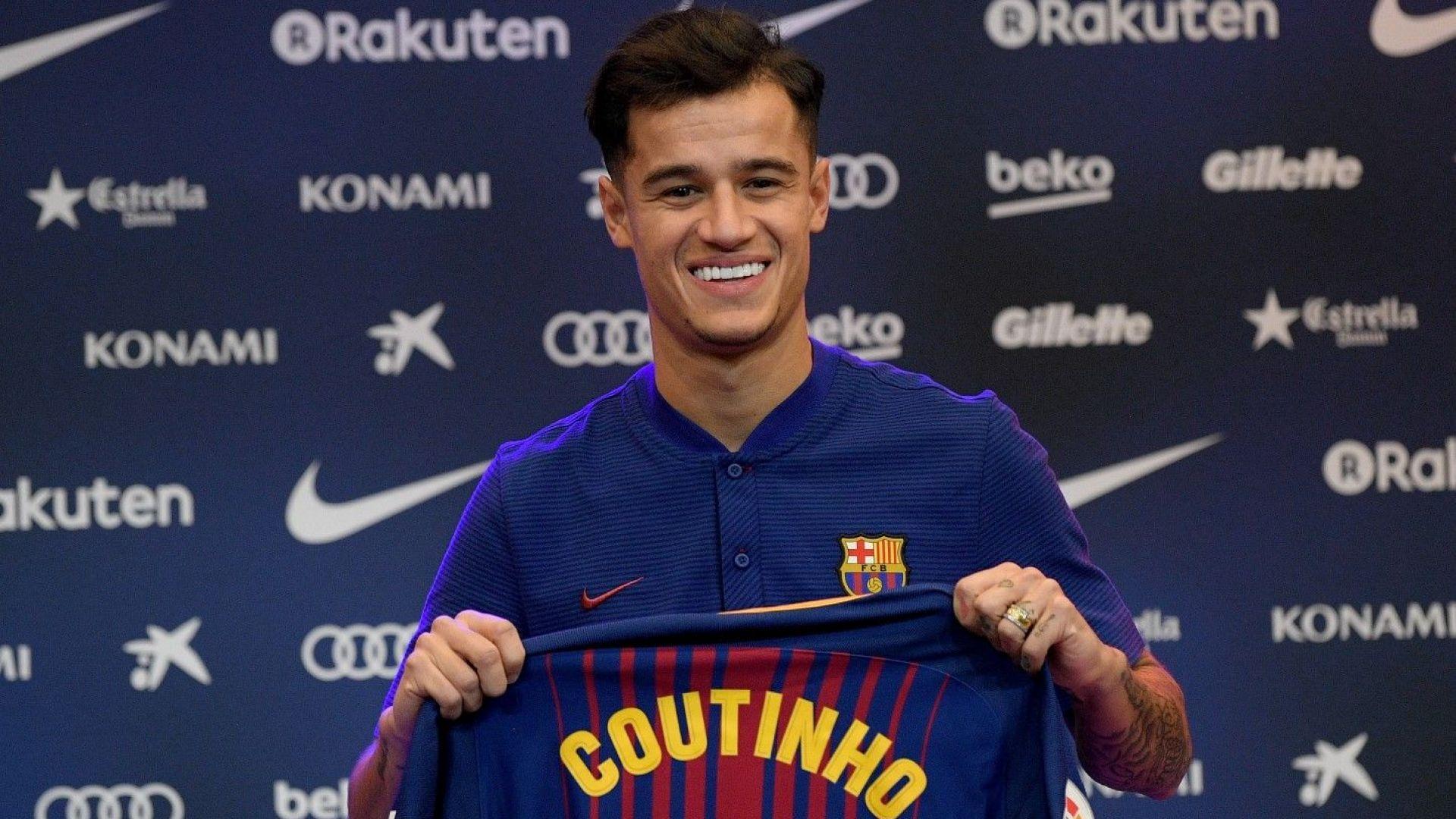 Разкриха прокобата, която пречи на Коутиньо да блесне в Барселона