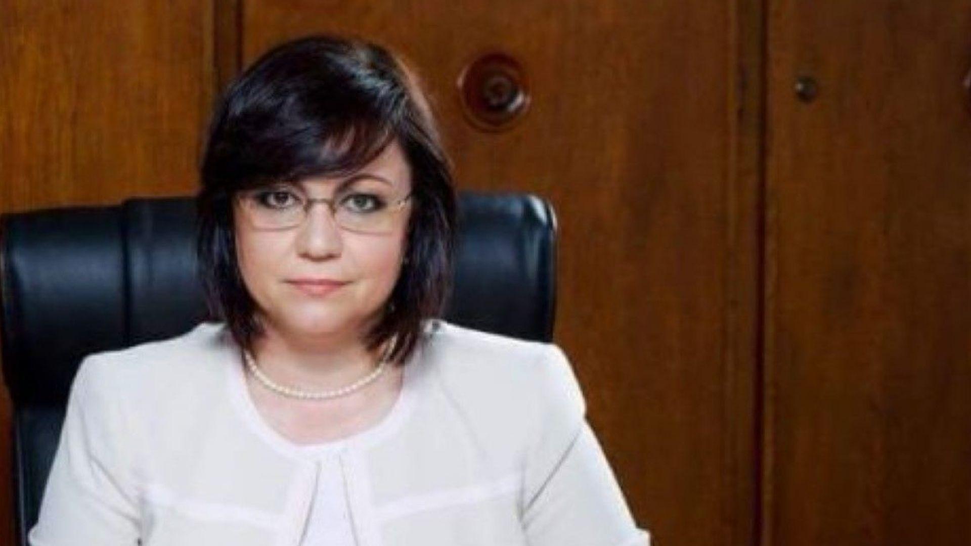 Нинова: Борисов да се откаже от политиката на мълчаливо съгласие