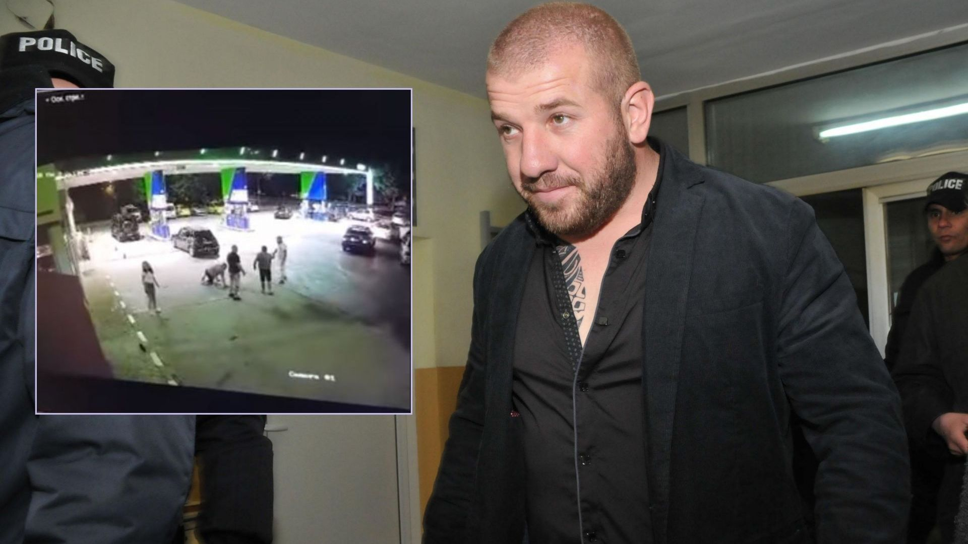 Нощен бой на бензиностанция, в главната роля - Динко Вълев (видео)
