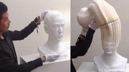 Гъвкавите скулптури на Ли Хунбо се разтягат като акордеон