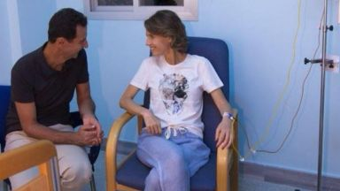 Асма Асад се подложи на лечение срещу рак на гърдата