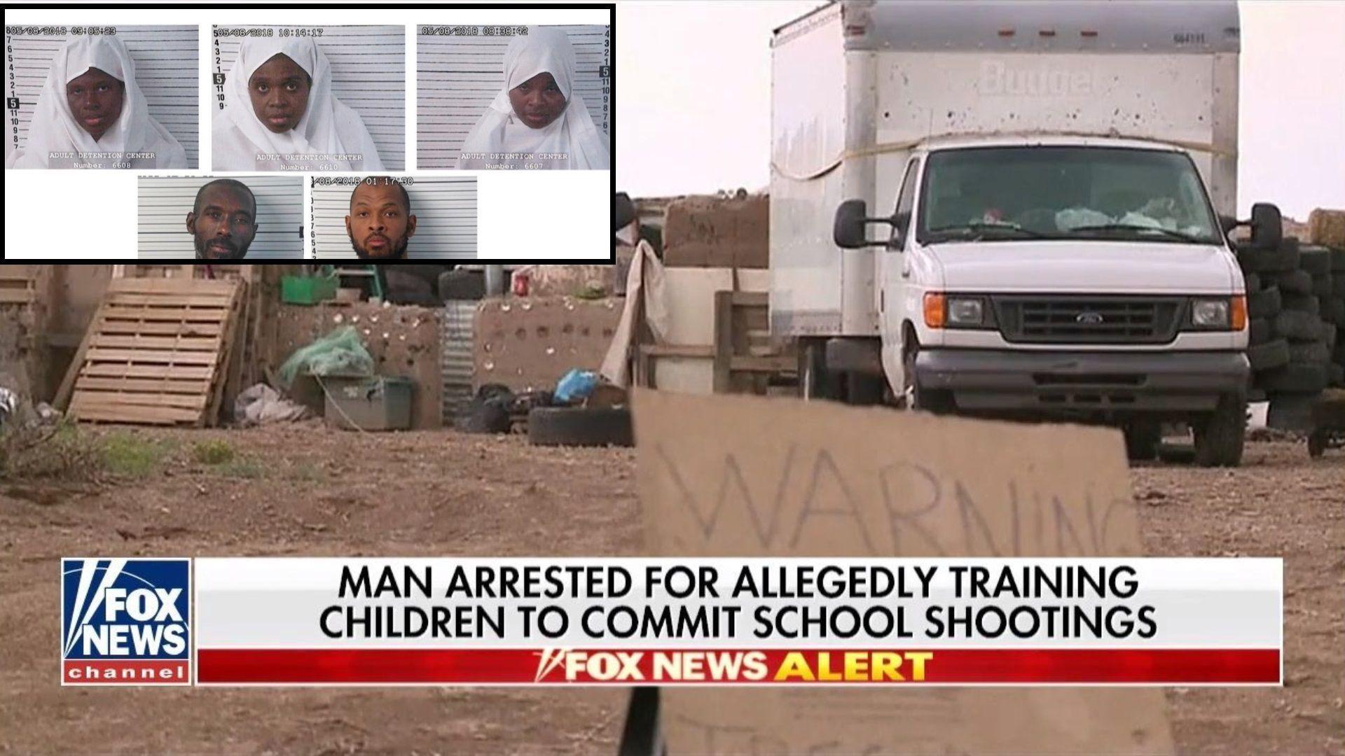 Гладуващите деца в Ню Мексико подготвяни за масови убийства от мюсюлмански екстремисти