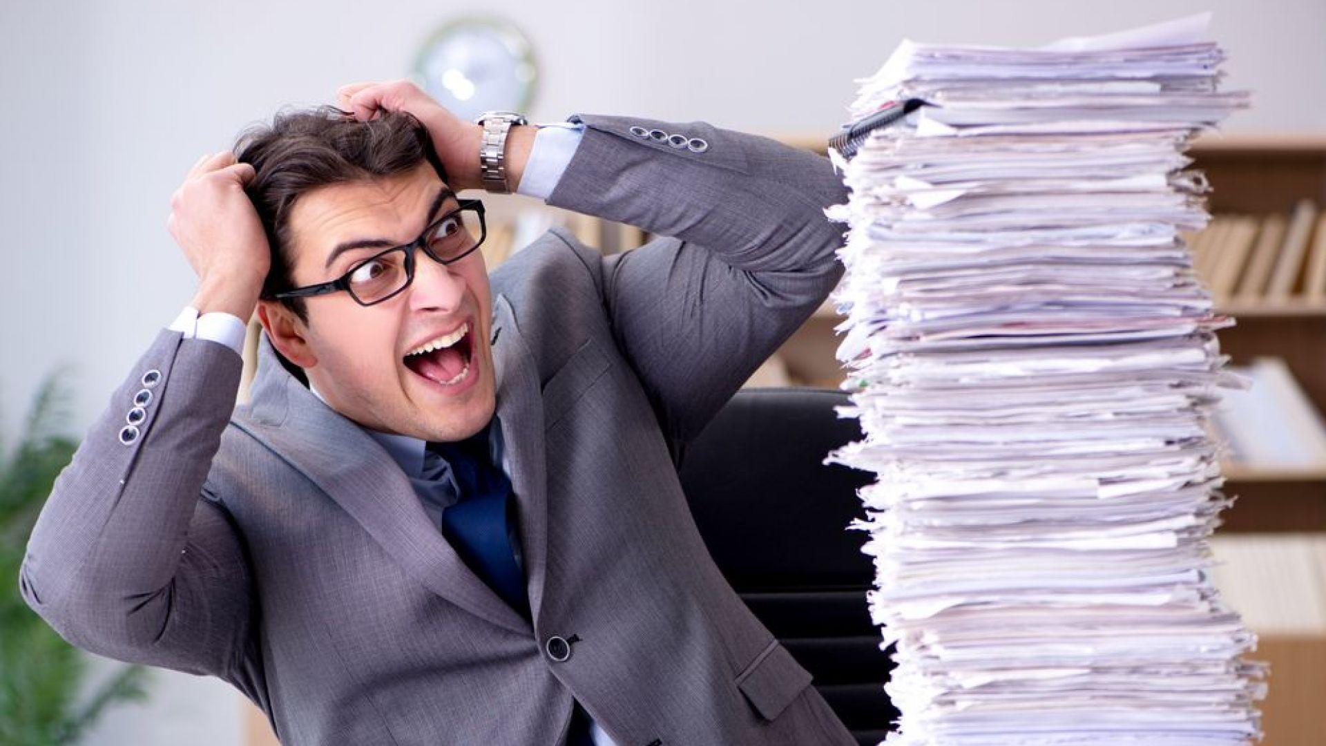 Специалисти: Не полагайте излишни усилия в работата