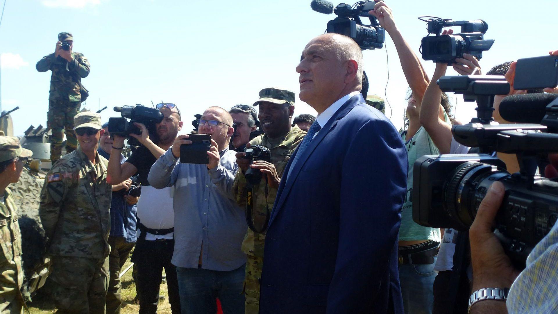 Борисов за изказването на Заев: Оставям всеки да си мери приказките