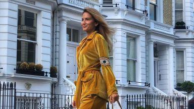 Зейнеб се радва на лятото в Лондон (снимки)