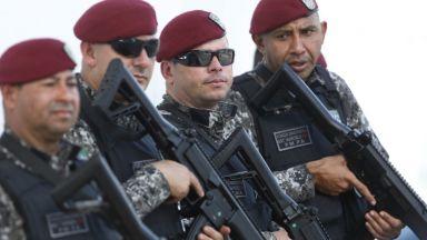 Бразилската полиция уби трима престъпници след зрелищен обир на летище