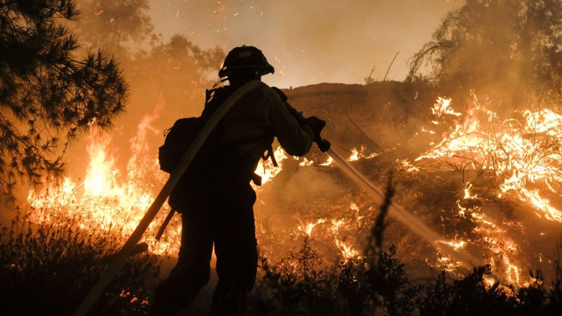 Десета жертва на пожарите в Калифорния