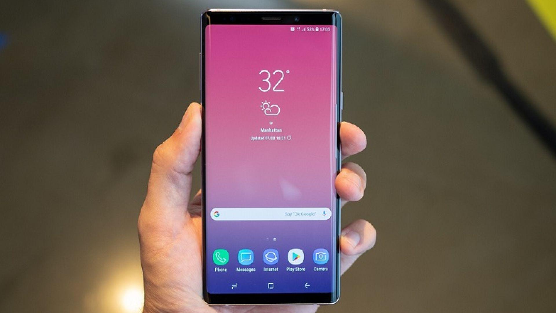 Samsung официално представи новия Galaxy Note9