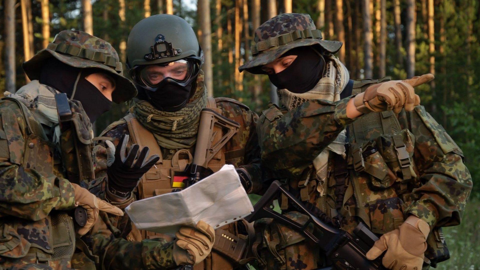 2/3 от германците искат връщане на задължителната военна служба