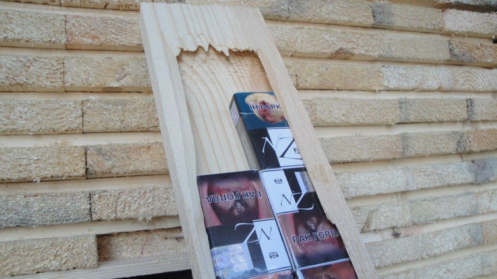 Задържаха 111 312 броя кутии контрабандни цигари, укрити по уникален начин