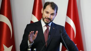 Зетят на Ердоган представи нова икономическа политика