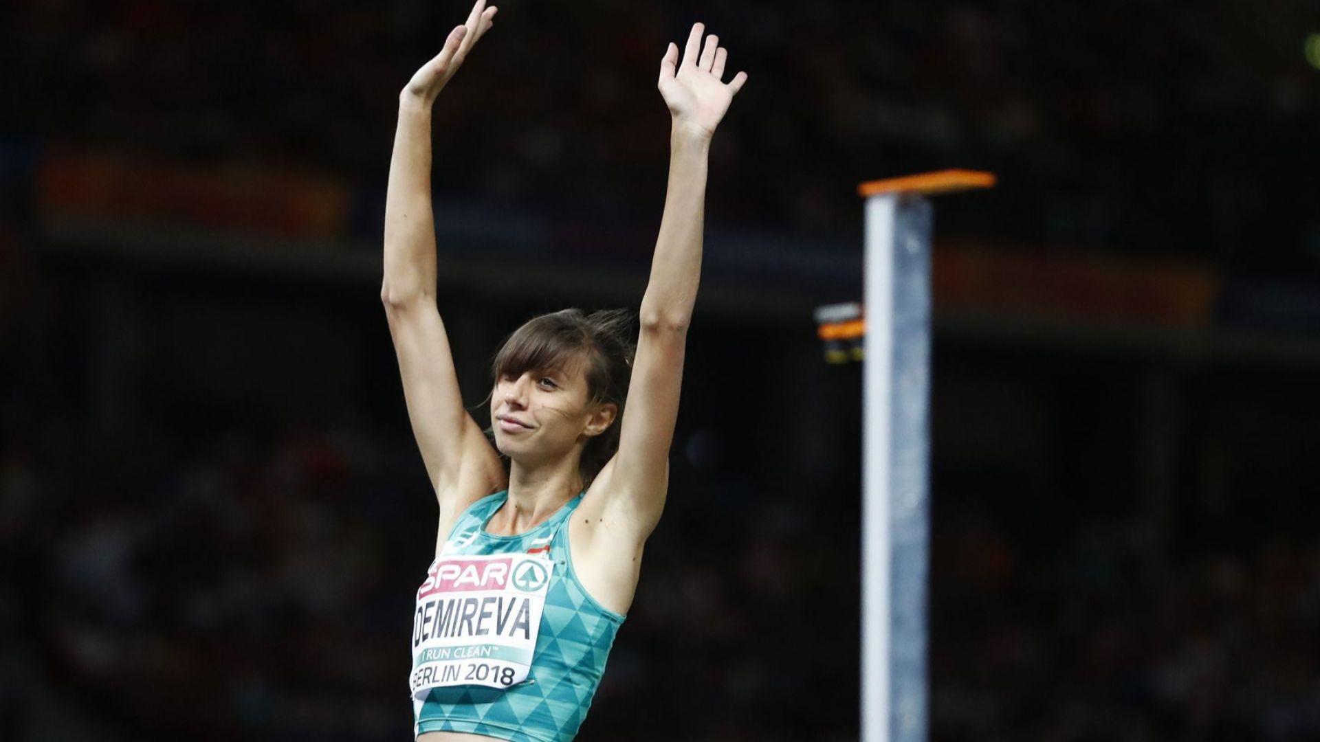 Мирела Демирева взе медал и покри норматива за Световното
