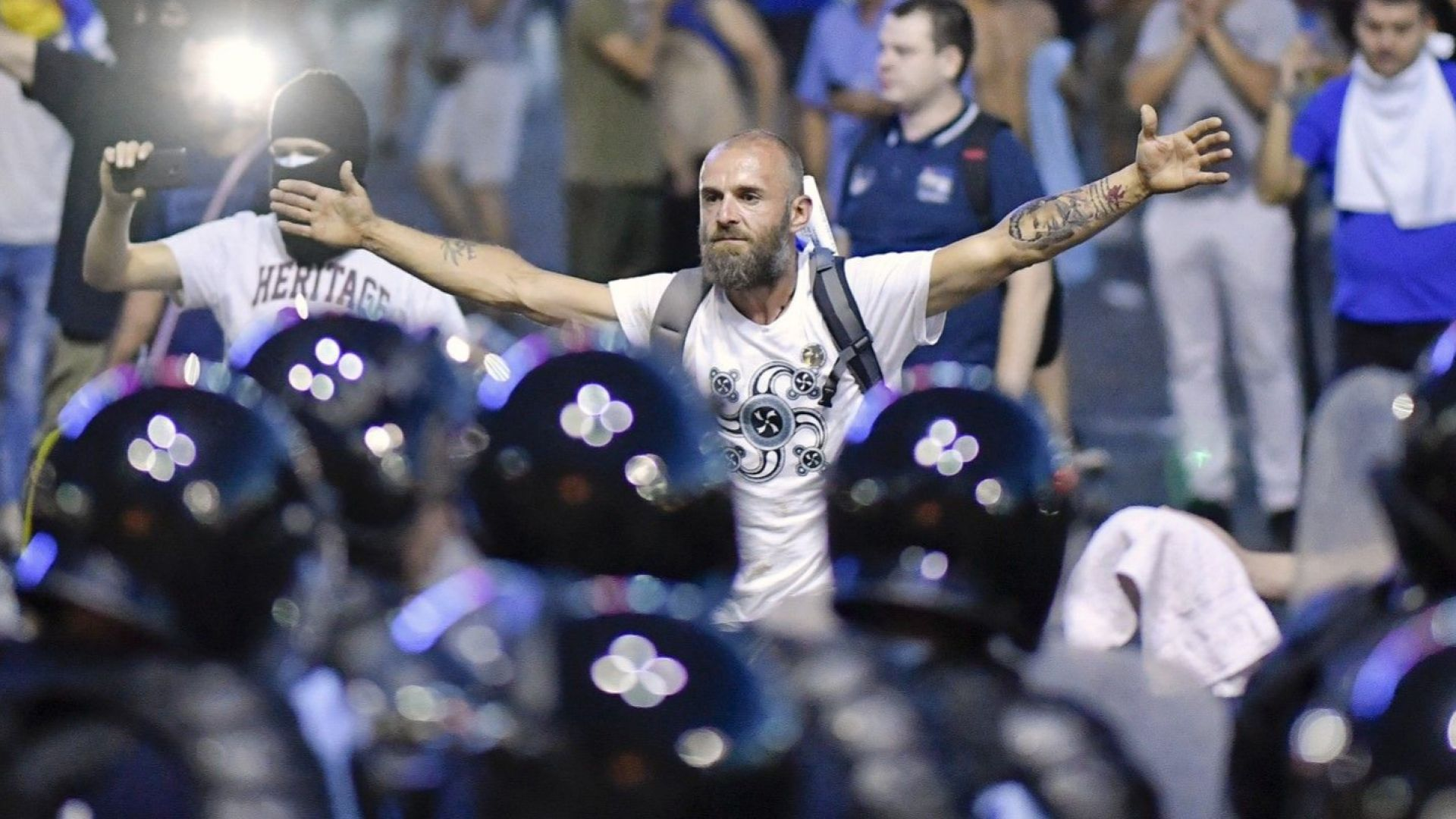 440 ранени в сблъсъците с полицията в Румъния