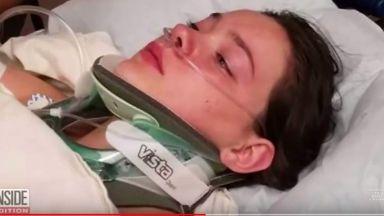 Шокиращи кадри на момиче, което блъска приятелката си от мост във Вашингтон