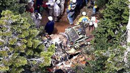 Девет души загинаха при катастрофа с хеликоптер в Япония