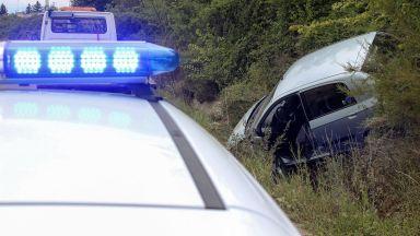 """Задимяване предизвика верижна катастрофа на магистрала """"Тракия"""""""