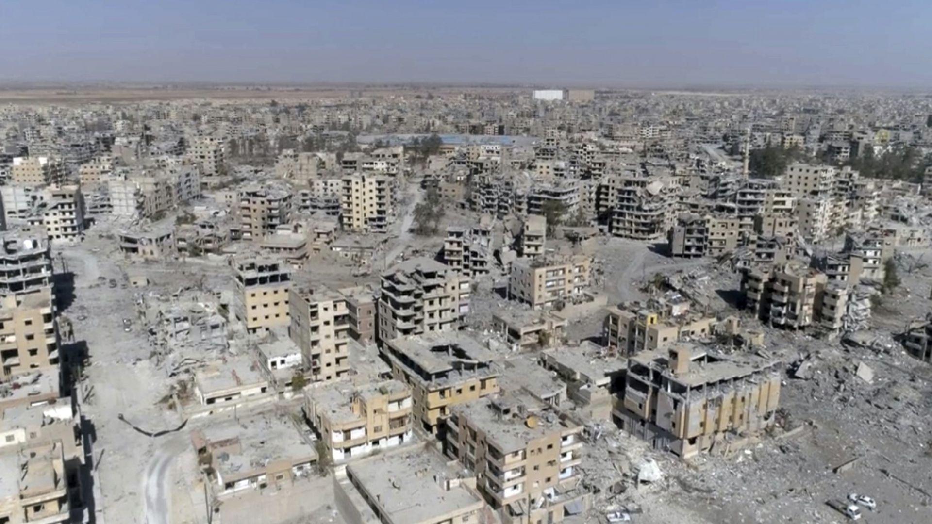 Руските сили свалиха дрон в Сирия