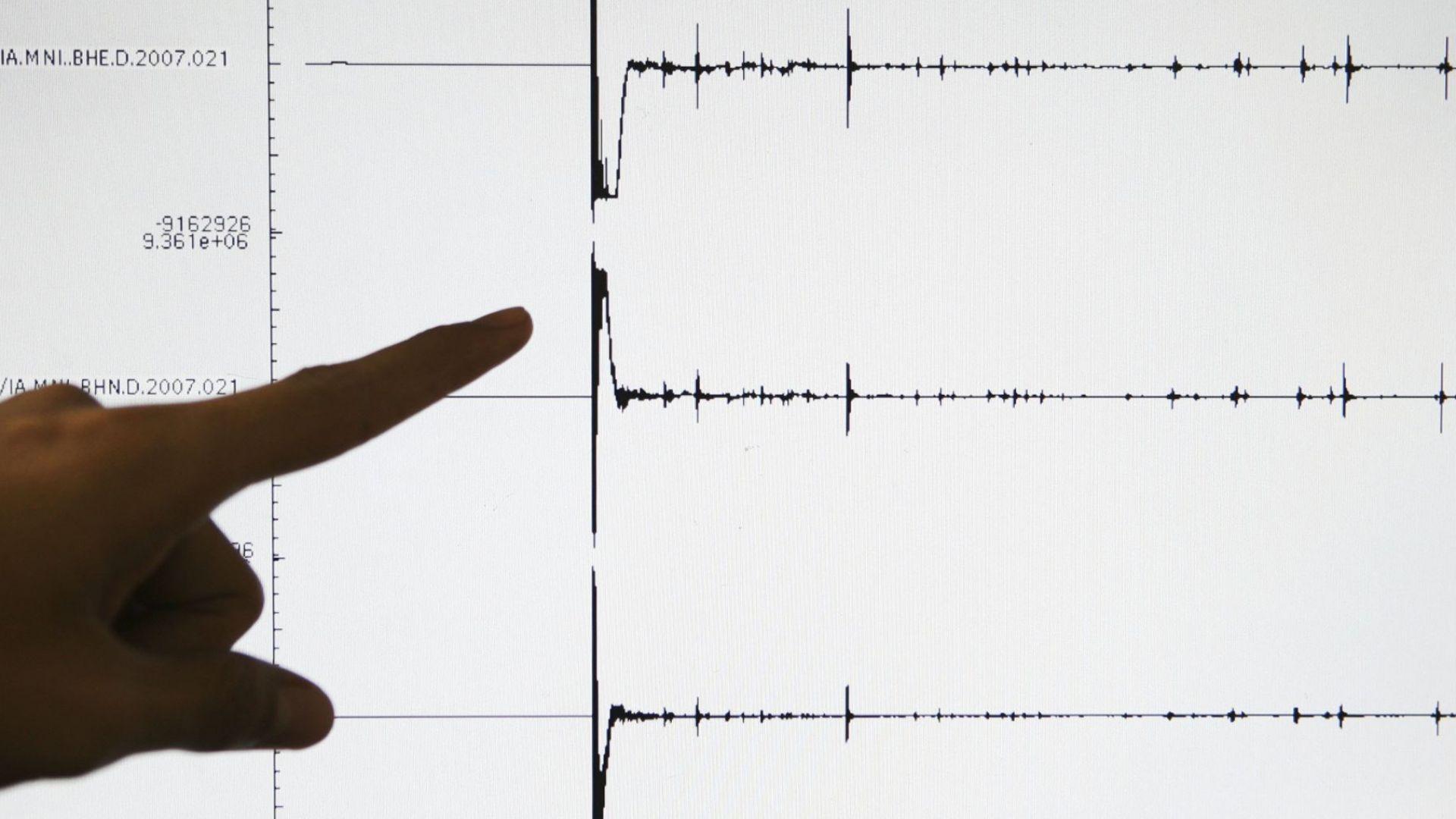 Албания бе разтърсена от две силни земетресения