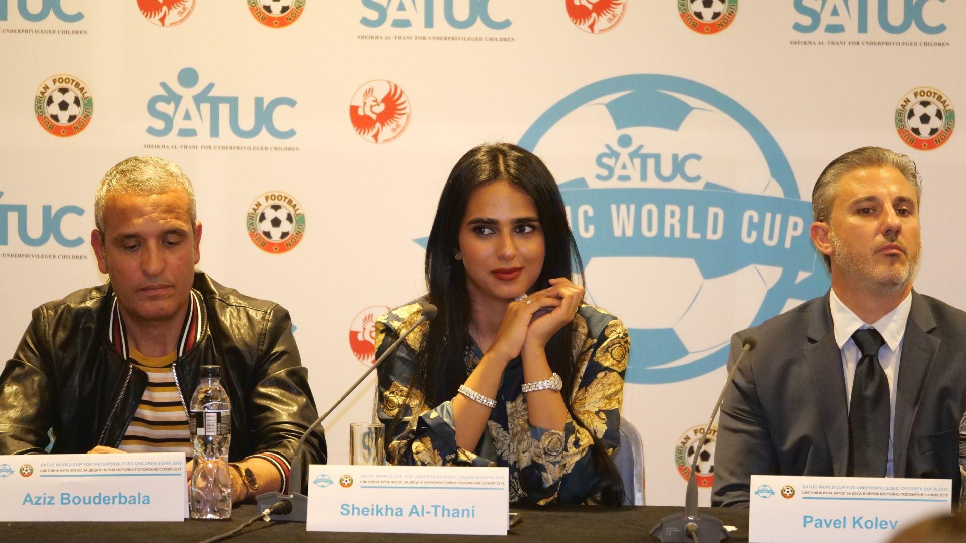 България, Ирак и принцесата на Катар откриват Световната купа